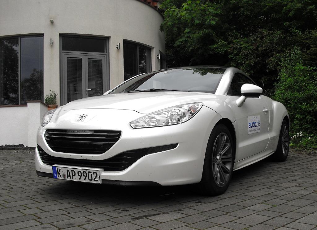 Peugeot RCZ, hier als einziger Diesel mit 120/163 kW/PS.