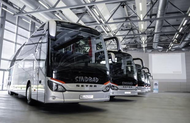 Polnischer Fernlinienanbieter baut Flotte mit Setra Reisebussen aus