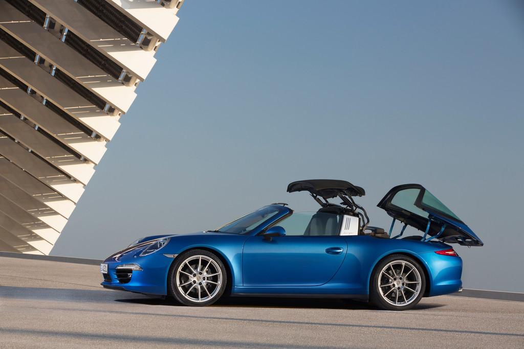 Porsche-Zentren feiern Targa-Einführung