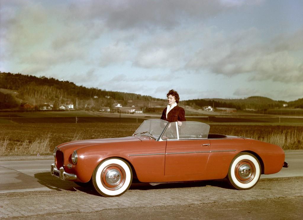Rar und rassig: Volvo Sport P1900 von 1954
