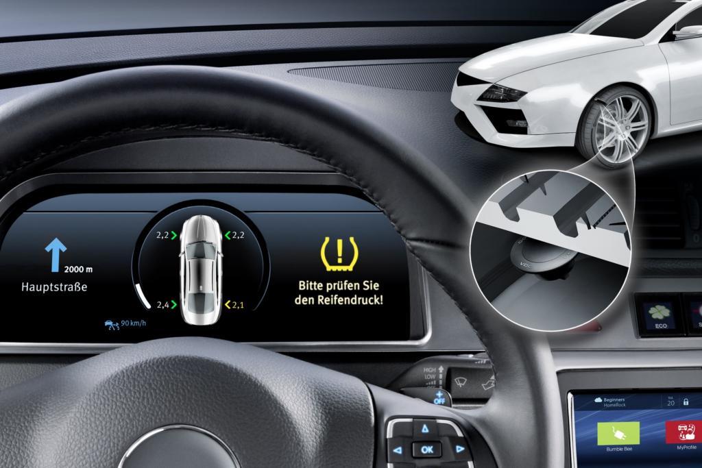 Reifenluftdruck-Kontrollsysteme werden Pflicht -  Sicherheit hat ihren Preis