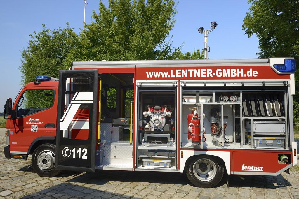 Rettmobil 2014: Daimler zeigt ersten Fuso für die Feuerwehr