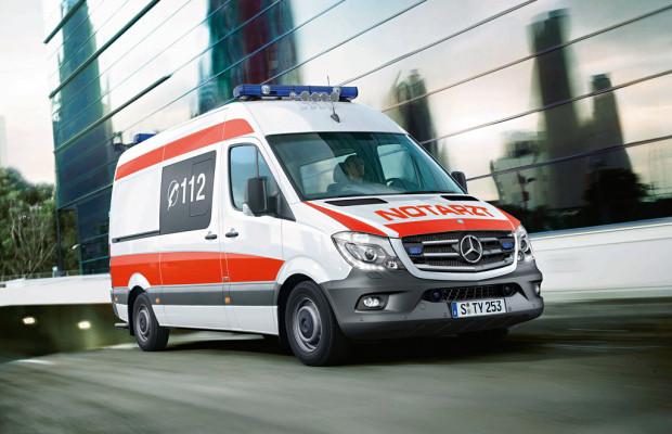 Rettmobil 2014: Mercedes-Benz mit C- und V-Klasse vertreten