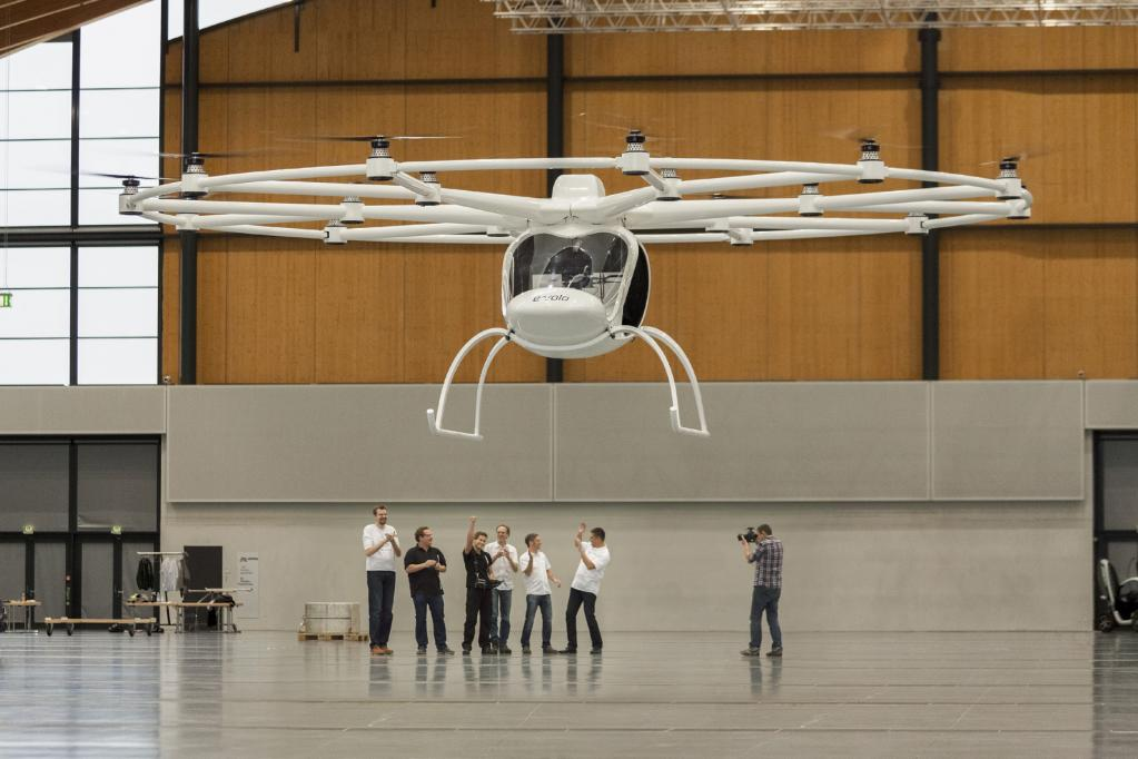 Revolutionäres Fluggerät mit E-Antrieb