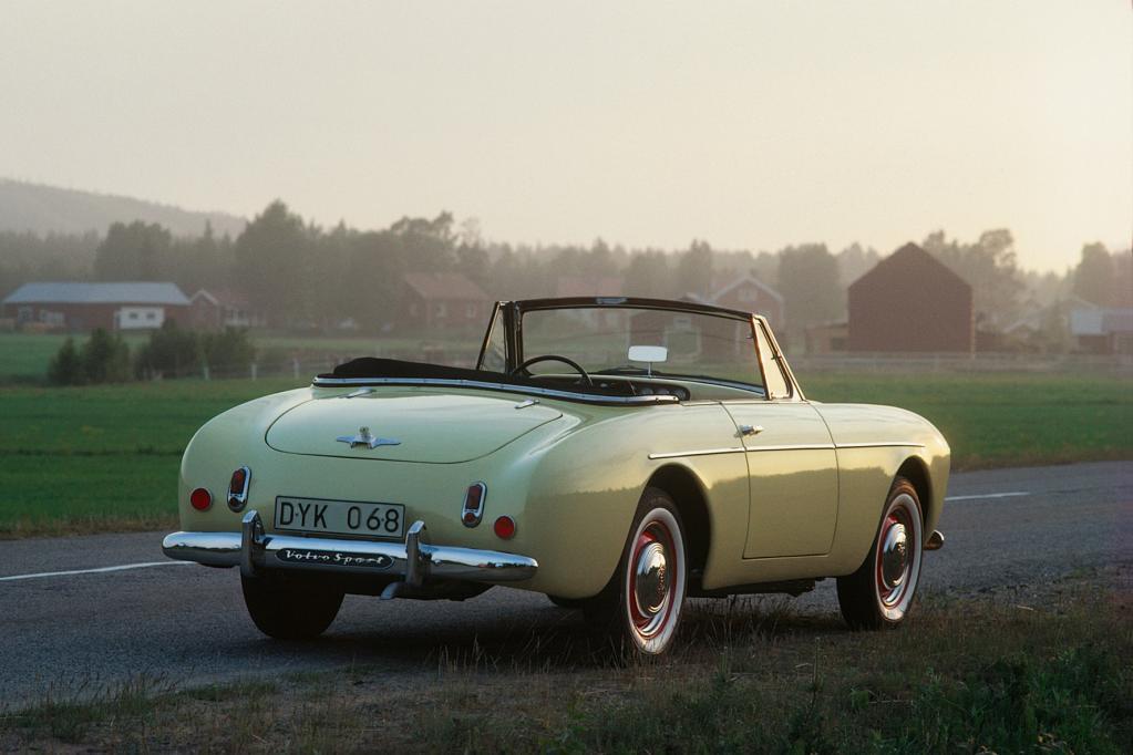 Roadster-Rarität von Volvo wird 60