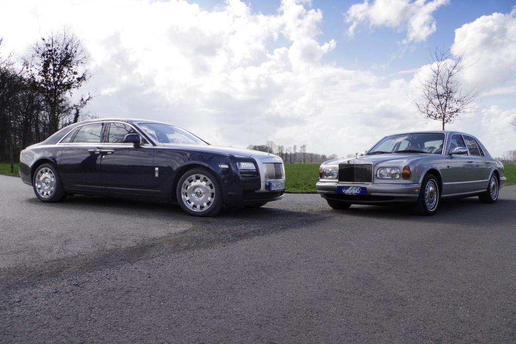 Rolls Royce: Silver Seraph trifft Ghost