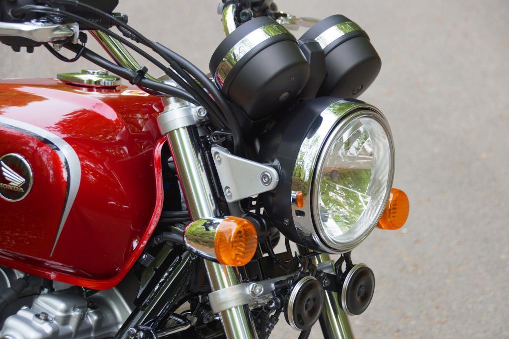 Runde Formen geben den Ton an beim Retro-Bike Honda CB 1100 EX