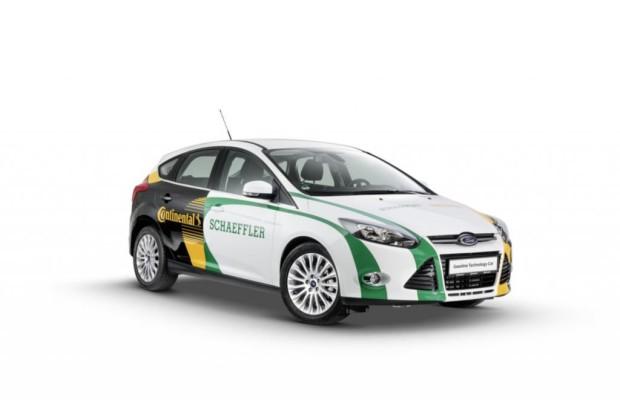 Schaeffler-Studie Gasoline Technology Car - Hybrid ohne Hochspannung
