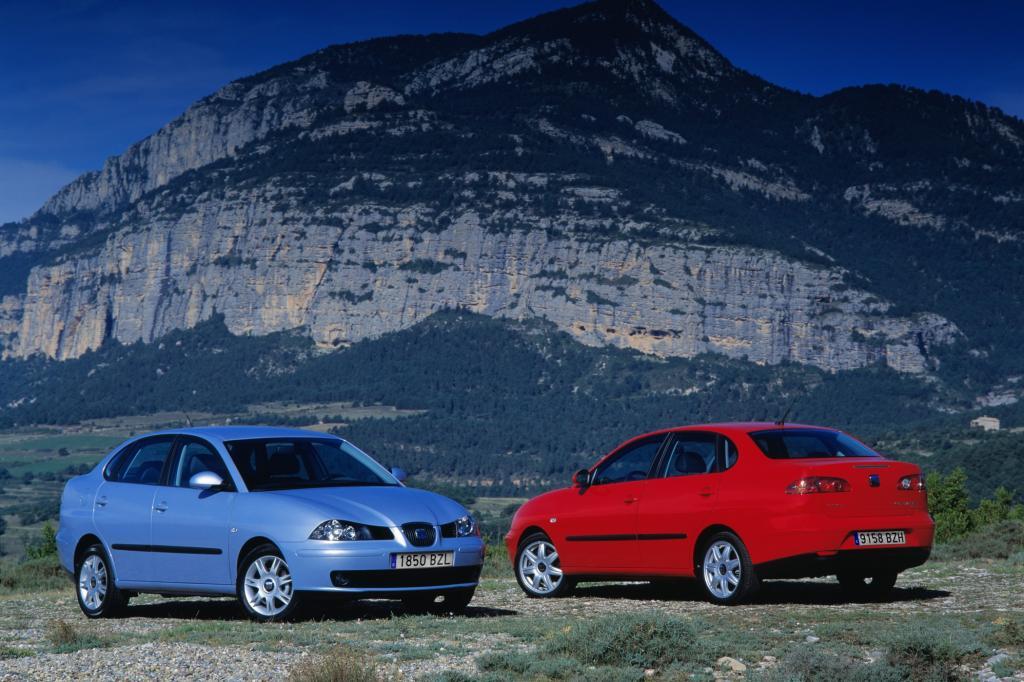 Seat Cordoba Generation 2 ab 2002 auf Basis des Ibiza Generation 3