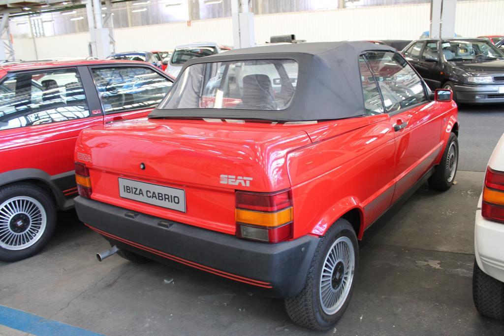 Seat Ibiza, Generation 1, Cabrio-Prototyp 1986