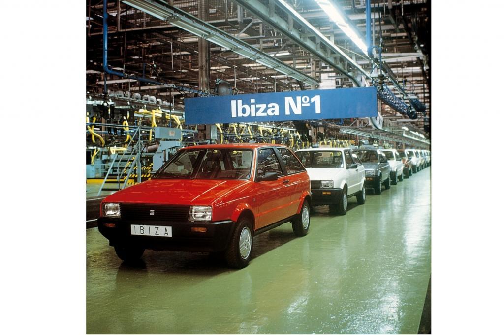 Seat Ibiza Generation 1, Produktionsstart 1984