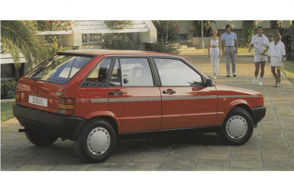 Seat Ibiza, Generation 1 ab 1985
