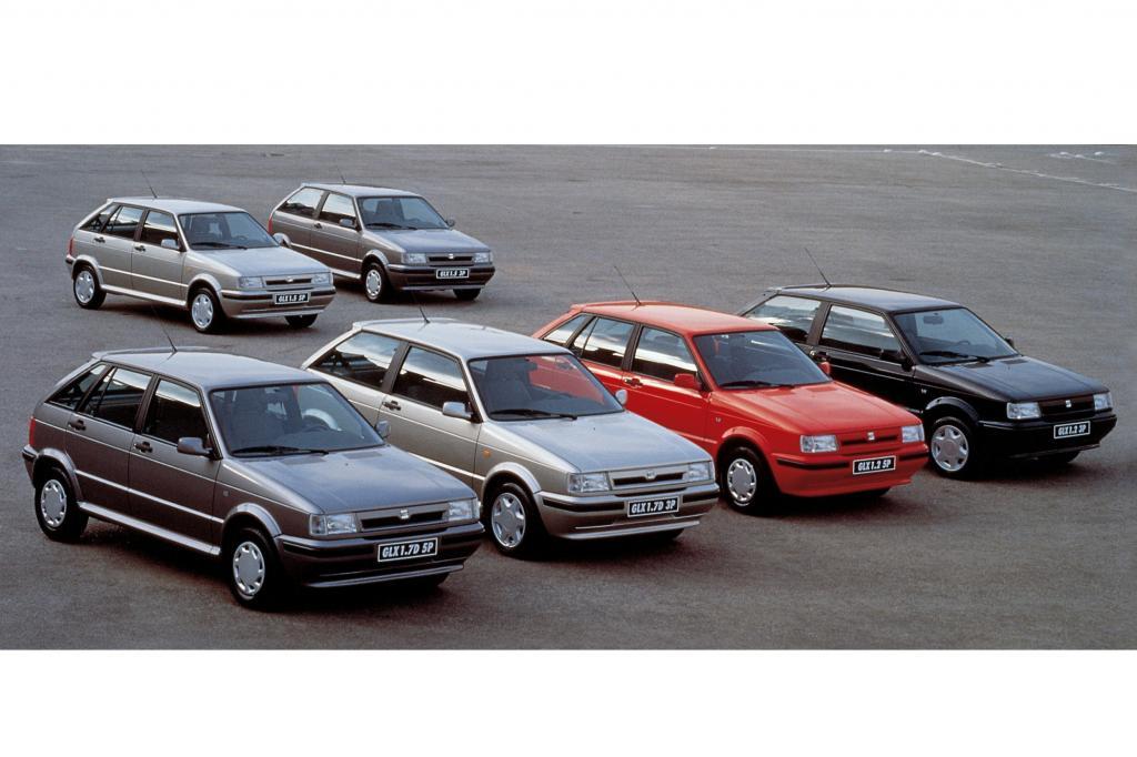 Seat Ibiza Generation 1 ab 1991