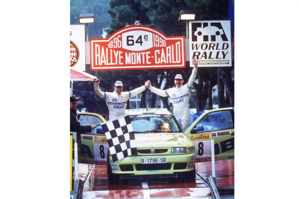 Seat Ibiza Generation 2, WRC Rallye Monte Carlo, 1996