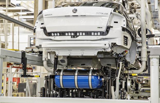 Skoda startet Produktion des Octavia G-Tec