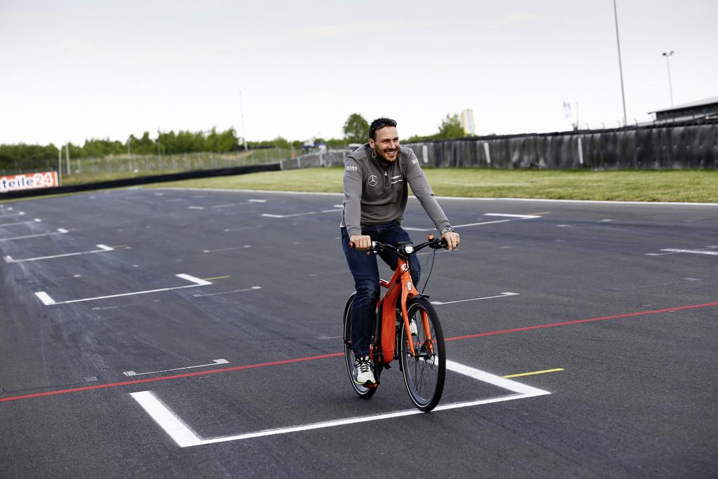 Smart Ebike im DTM-Einsatz