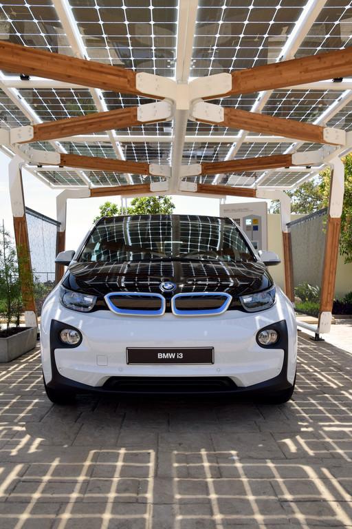 Solar-Carport passend zu den BMW i-Modellen