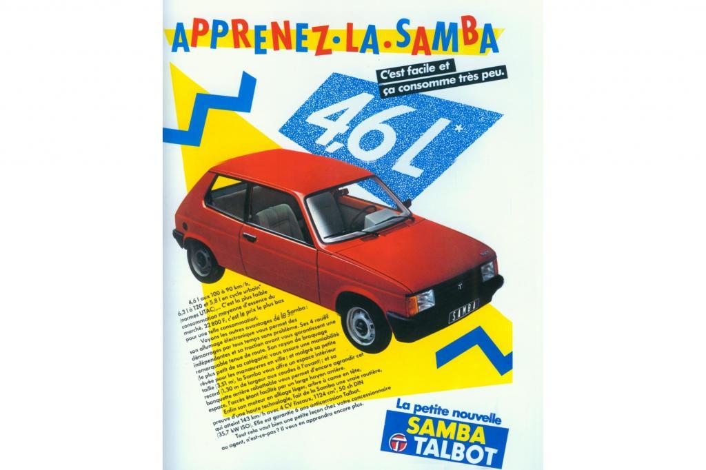 Talbot Samba 1981