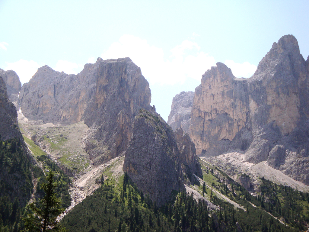 Teile der Dolomiten sind Weltnaturerbe.