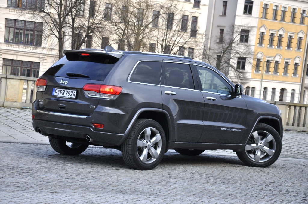 Test Jeep Grand Cherokee Overland -  Angenehme Überraschung