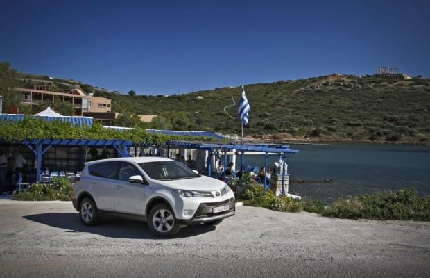 Toyota RAV4 auf den Spuren der Vergangenheit -  Zwischen Odysseus und Poseidon