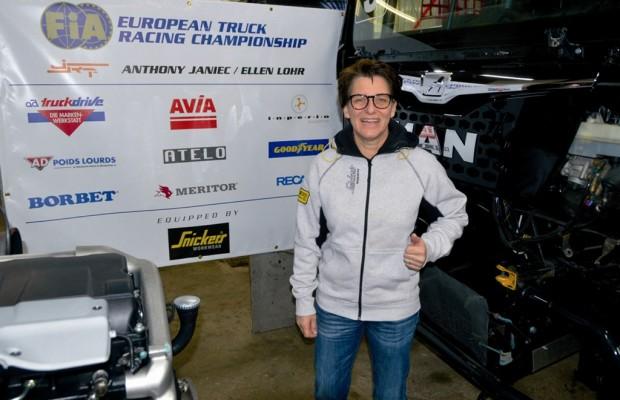 Truck-Racing: Ellen Lohr fährt vor