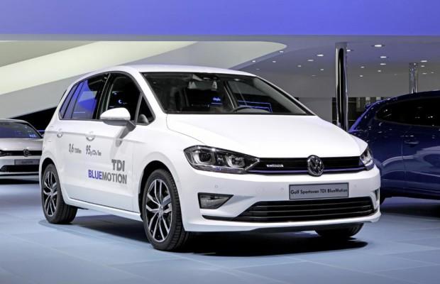 VW Golf Sportsvan Blue Motion: Tiefergelegter Kompakt-Van