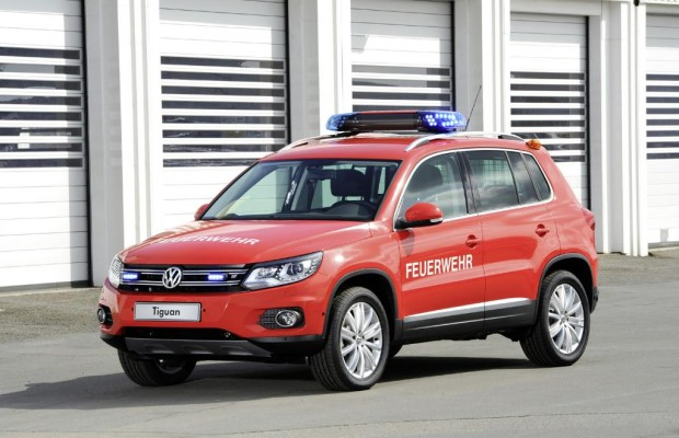 VW-Rettungswagen mit Sonderfunktionen
