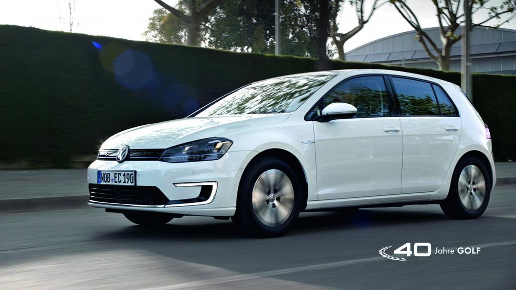 VW startet Kampagne für den E-Golf