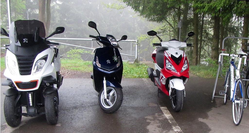 Vielfältig: Peugeot ist auch auf zwei oder drei Rädern unterwegs.