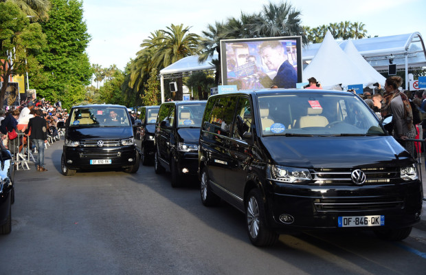 Volkswagen fährt Filmstars in Cannes