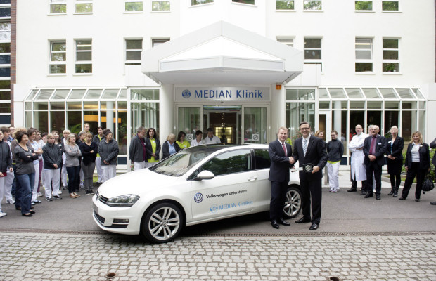 Volkswagen kooperiert mit Median-Kliniken
