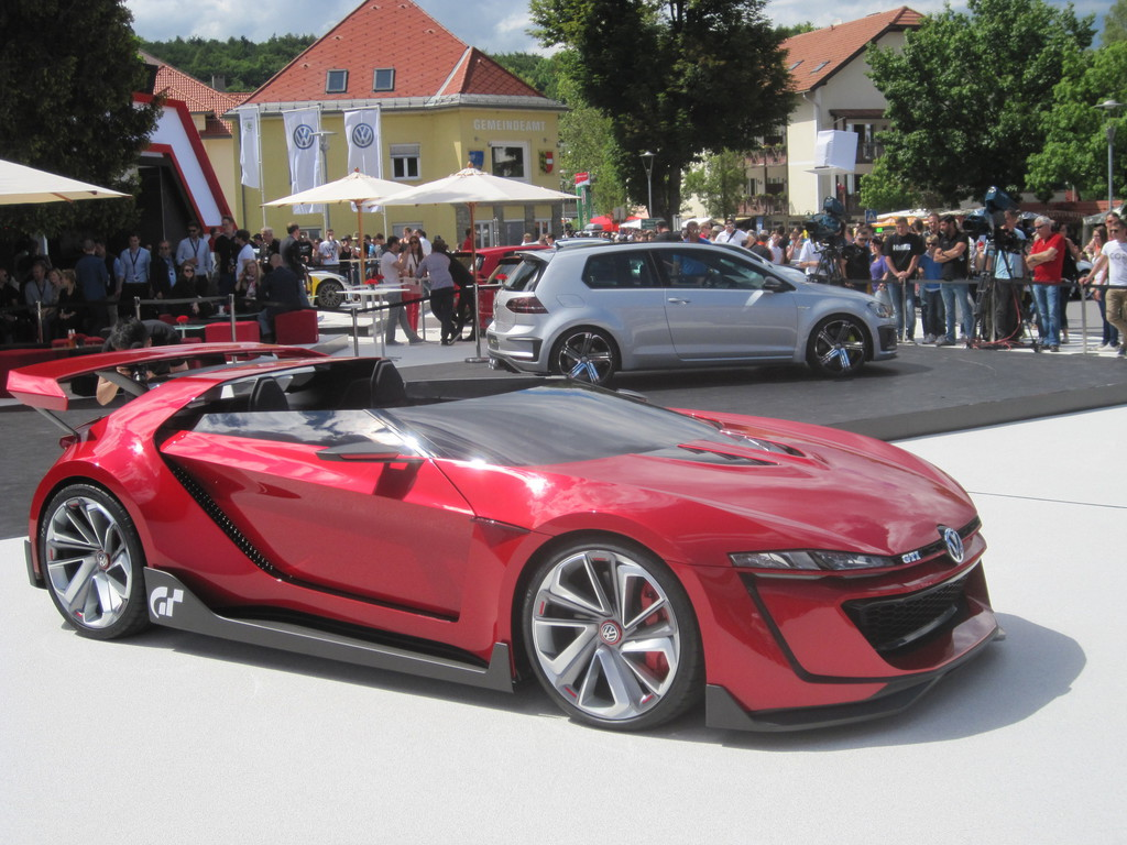 Volkswagens Sommerfrische: Wahnsinn am Wörthersee