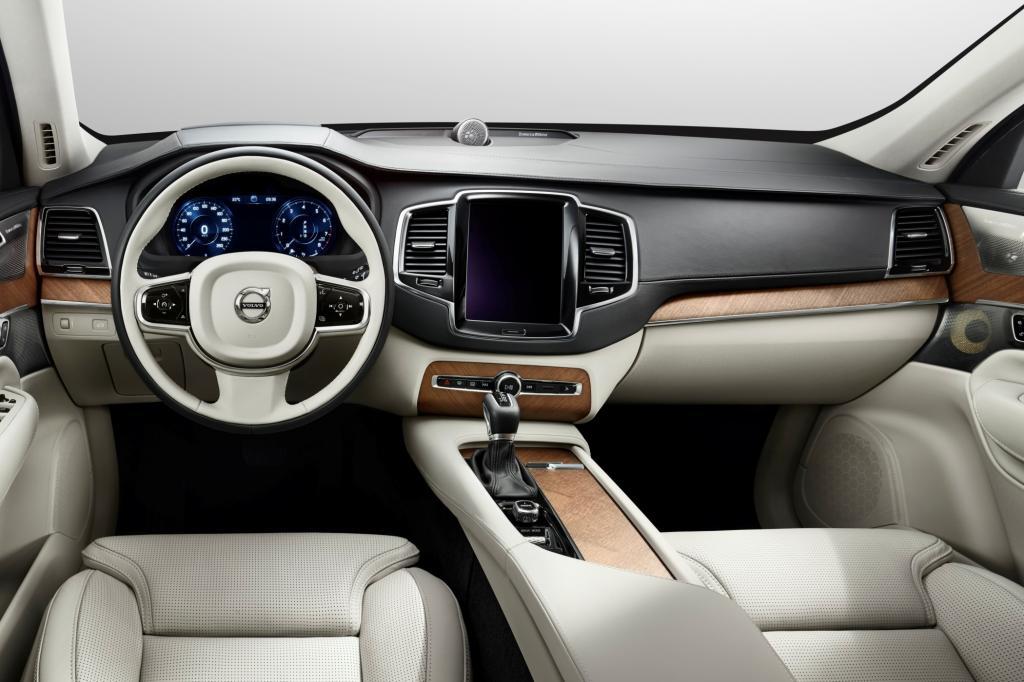 Volvo zeigt erste Bilder des XC90-Innenraums