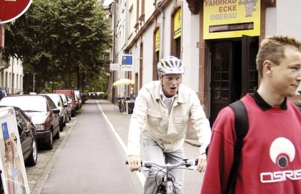 Wann Radfahrer haften