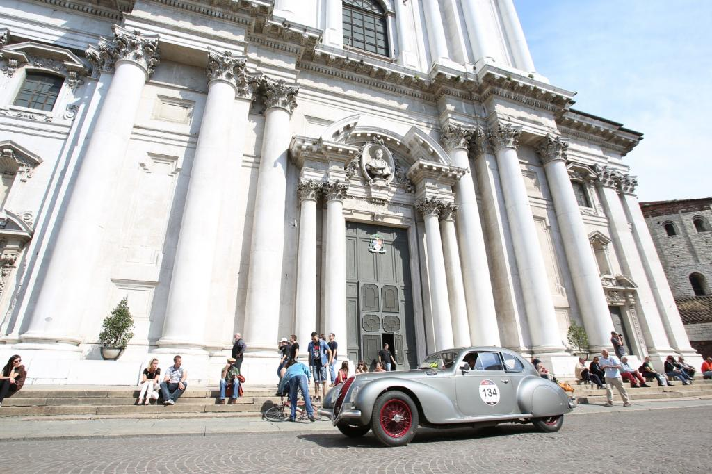 Wer den 15. Mai gewählt hat, um das lombardische Brescia zu besuchen, konnte eines der für Autofans schönsten Spektakel der Welt erleben.