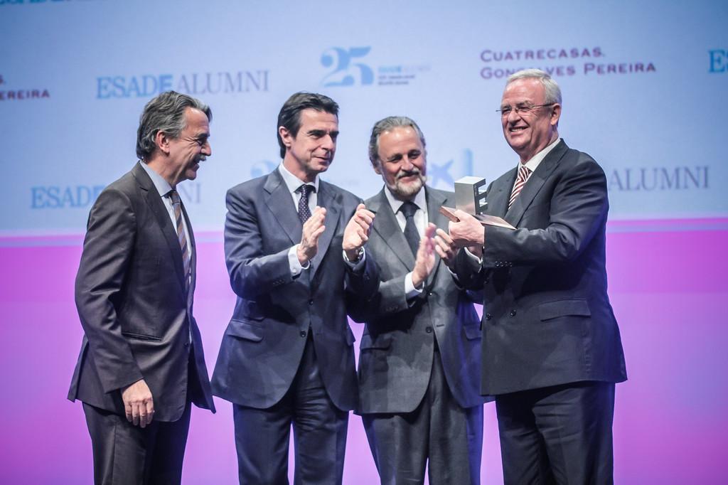 Winterkorn erhält ESADE-Award