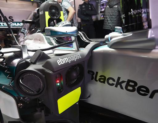 ebm-papst-Kühlung für Mercedes AMG Petronas