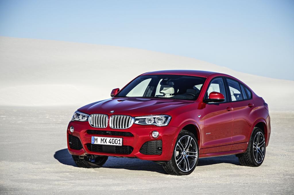 : Eine Mischung aus SUV und Coupé soll der neue BMW X4 sein, der in der Mittelklasse (noch) auf keinen direkten Rivalen trifft.