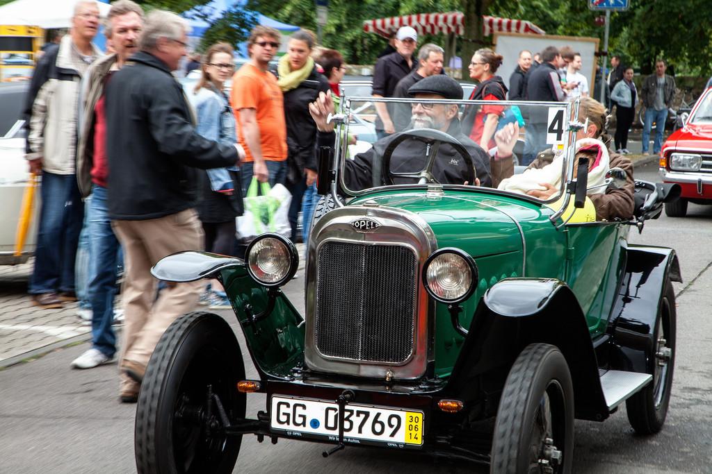 14. Opel-Treffen mit 20 000 Besuchern
