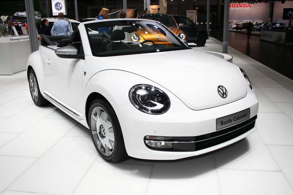 AMI 2014: VW Beetle erinnert an Käfer von Karmann