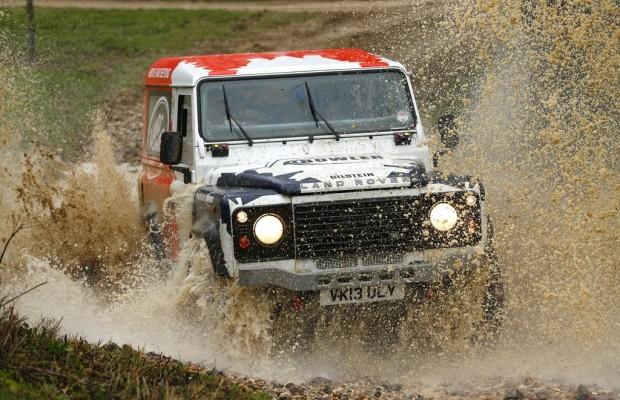 Abenteuer & Allrad: Land Rover belegt das größte Areal