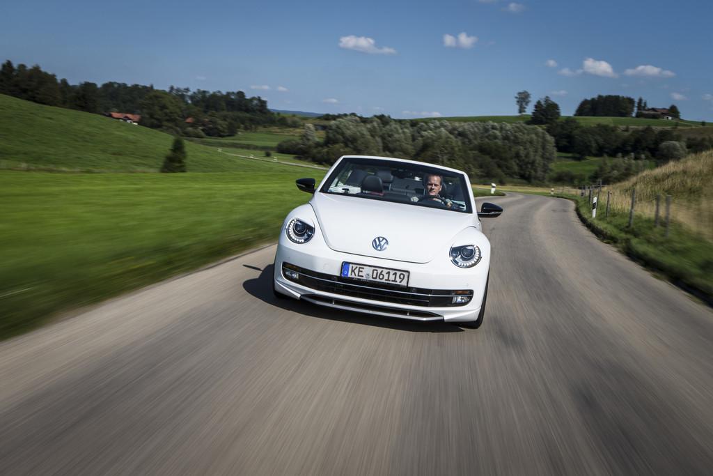Abt pusht das VW Beetle Cabrio auf bis zu 260 PS