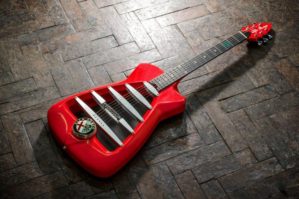 Alfa-Romeo-Gitarre