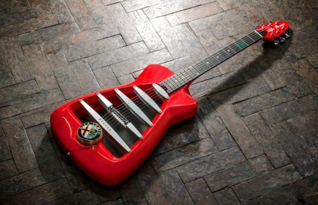 Alfa-Romeo-Gitarre - Da rockt´s in 4C