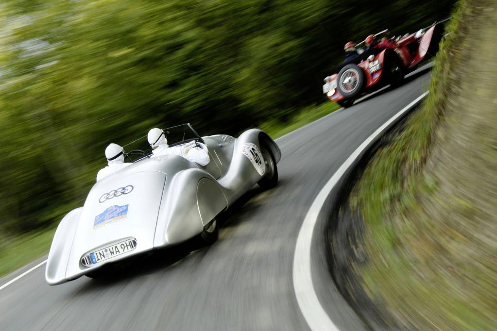 Audi: Der alte Wanderer kommt zur Donau Classic