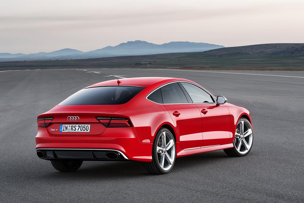 Audi RS 7 Sportback mit neuem Auftritt