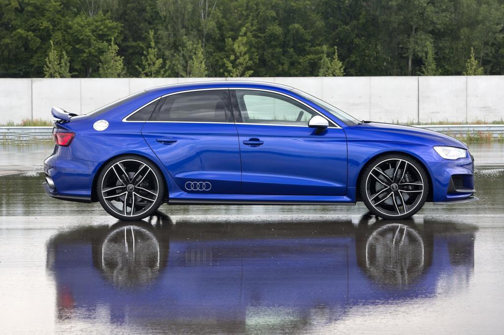 Audi hat mit dem A3 Clubsport noch viel mehr im Sinn als das bisschen Show.
