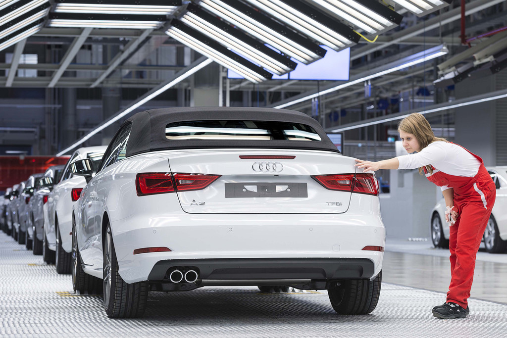 Audi lieferte im Mai 152 000 Autos aus