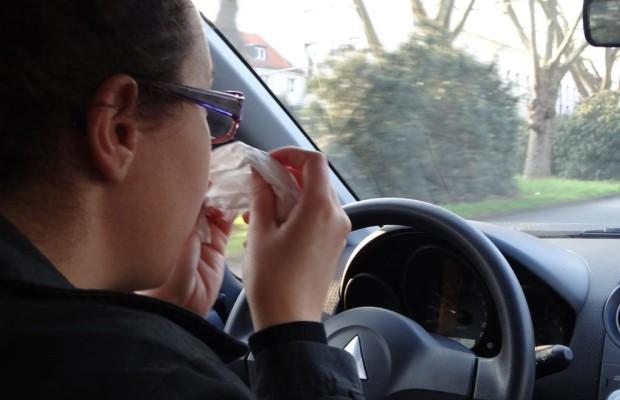 Autofahren: Heuschnupfen so gefährlich wie Alkohol